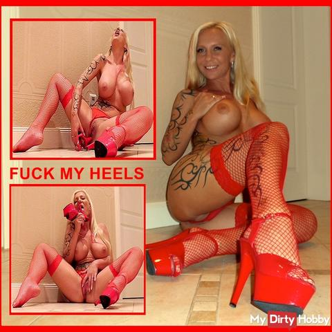 My first high heel fuck & it was soooo horny!
