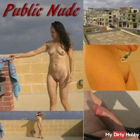 Dusche, Rasur und Öffentliche Nacktheit