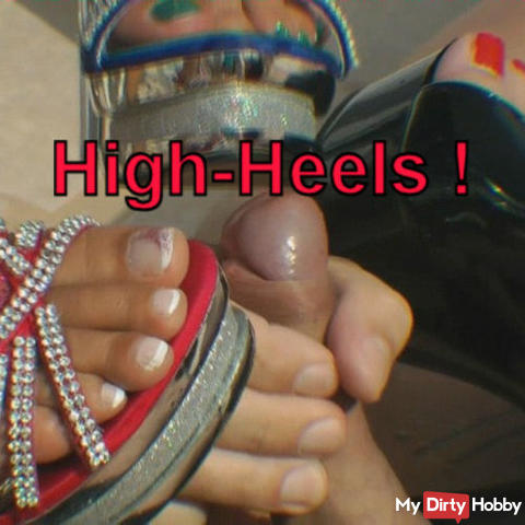 High heels on the tail!