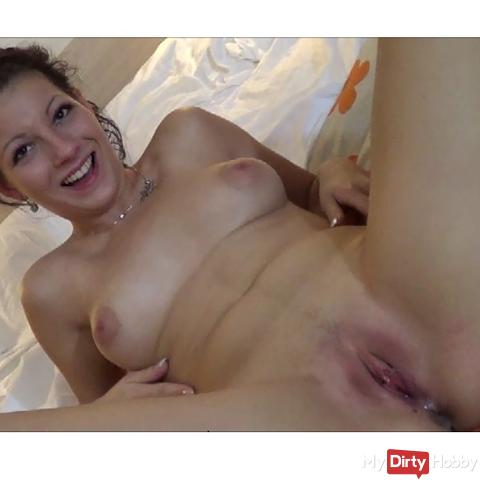 you have me pregnant now. Creampie