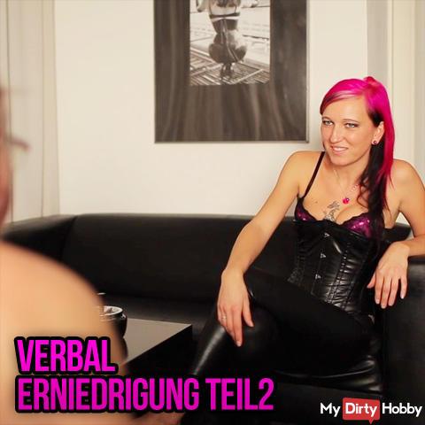verbal humiliation
