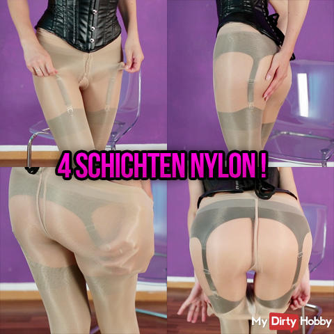 4 layers of nylon