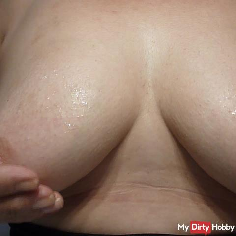 Ice for my hot tits