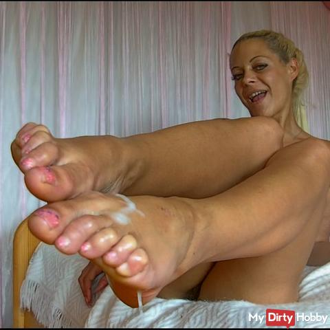 Feet fuck with MDH user