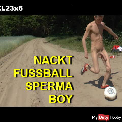74) NAKED BOY SOCCER SPERM - FULL HD