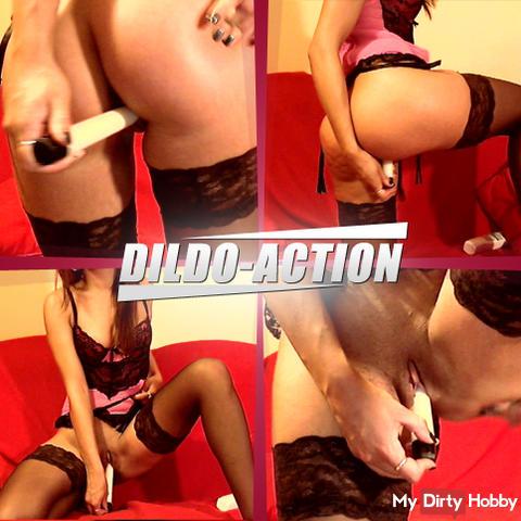 Dildo action