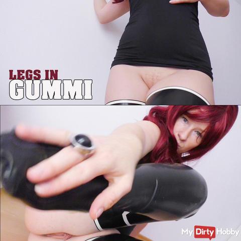 Legs in Gummi
