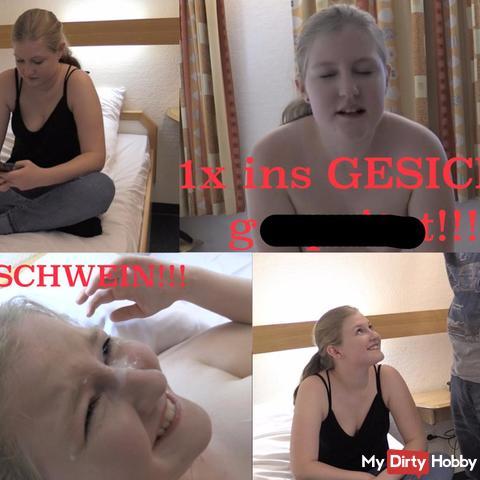 1x GESICHT GEspri**T!!!