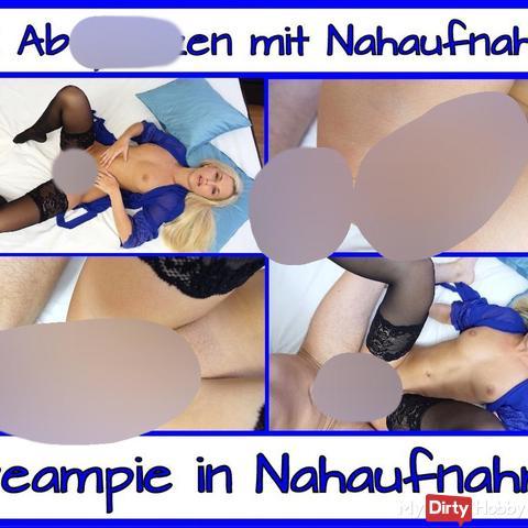 2 X Abspri**en mit Geiler Nahaufnahme