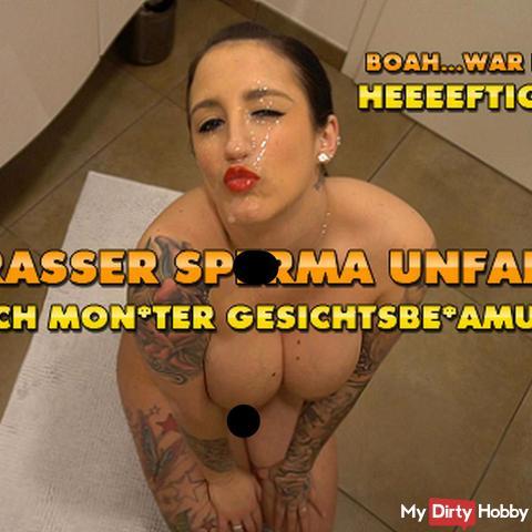 Krasser sper*a Unfall ! Unglaubliche Monster Gesichtsbesa**ng !!!