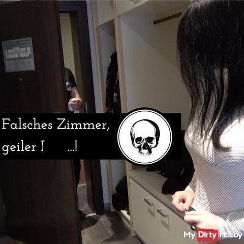 Falsches Zimmer, geiler fi**!