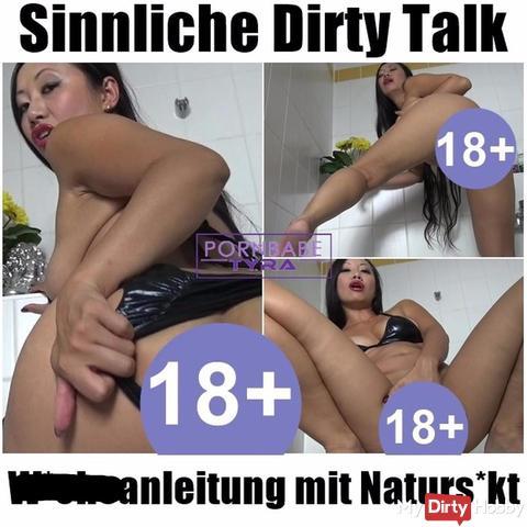 Sinnliche Dirty Talk wi**sanleitung mit naturs***