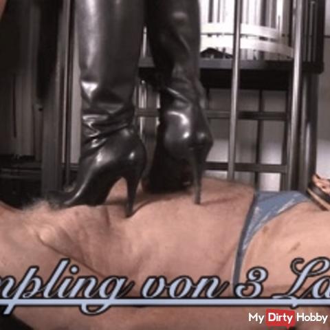 Trampling of 3 Ladies