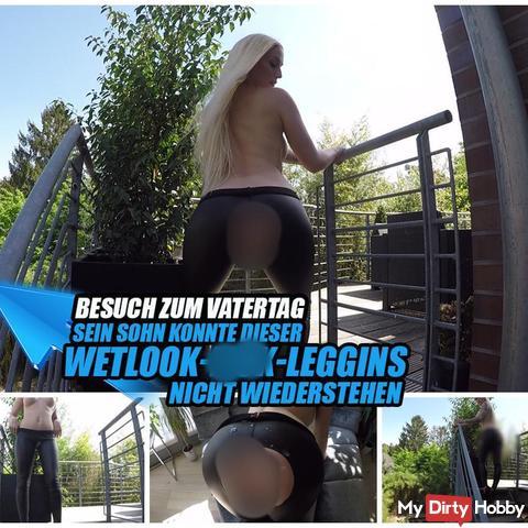 WETLOOK-LEGGINS-fi**-TRICK | DA spri**T DER JUNGSPUND MÄCHTIG! | LUCY CAT