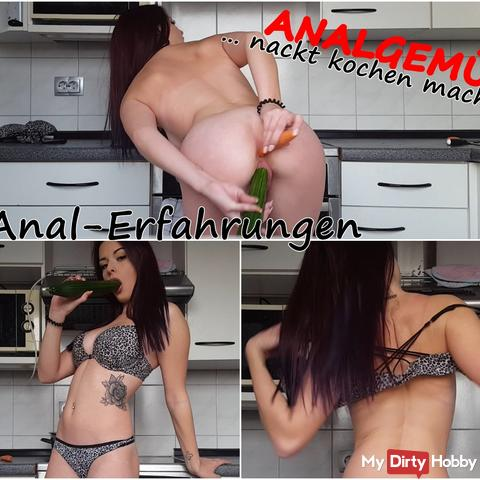 ASS VEGETABLES - cook naked makes you horny