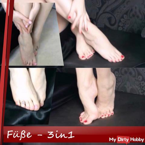 Feet - 3in1!