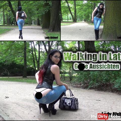 Walking in Latex - Geile Aussichten