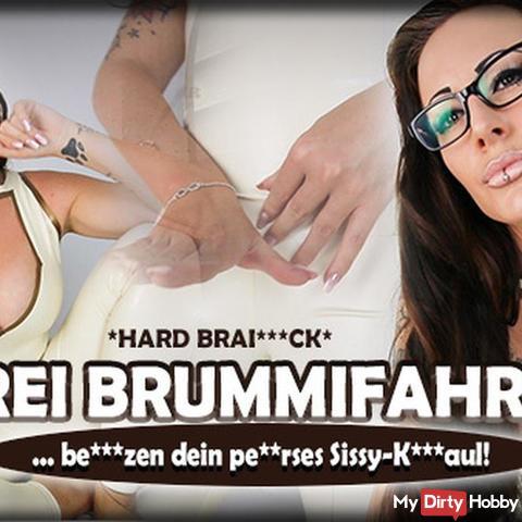 Drei Brummifahrer benutzen dein Sissy-Klomaul! (BRAINfu*k)