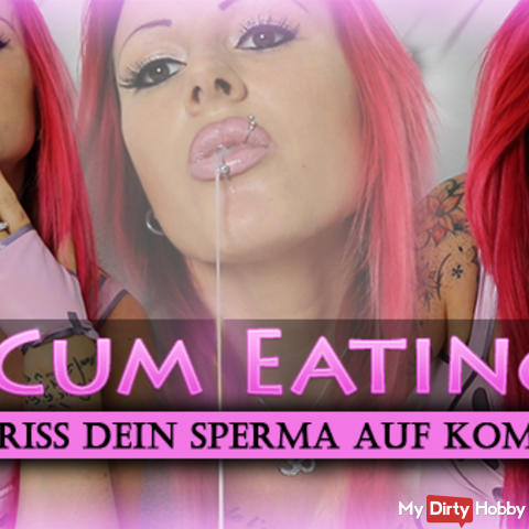 Cumeating 2 - Eat Cum on command!