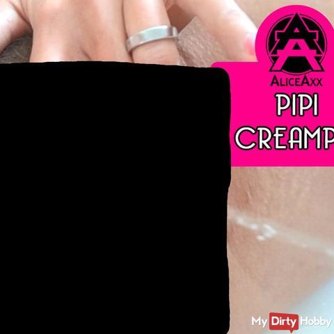 Gros plans pi*i & cream**e