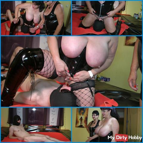 Milf's sip & lick slave !!