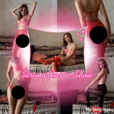 Strumpfhosen-Show