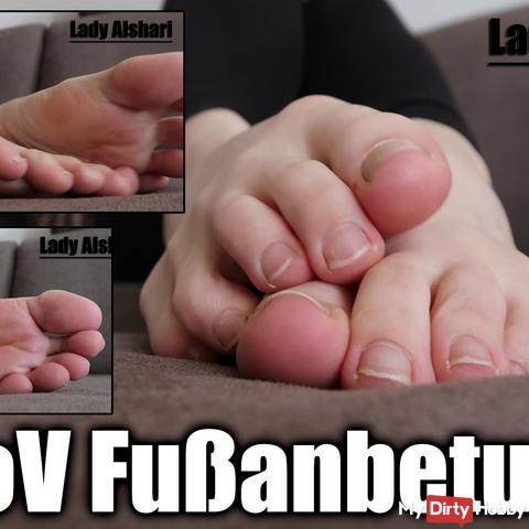 PoV Fußanbetung
