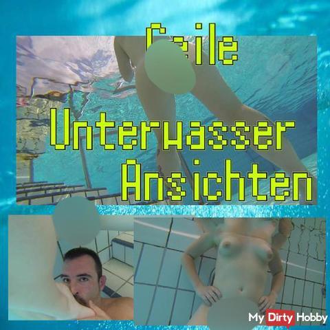 Geile Unterwasser Ansichten Teil 2