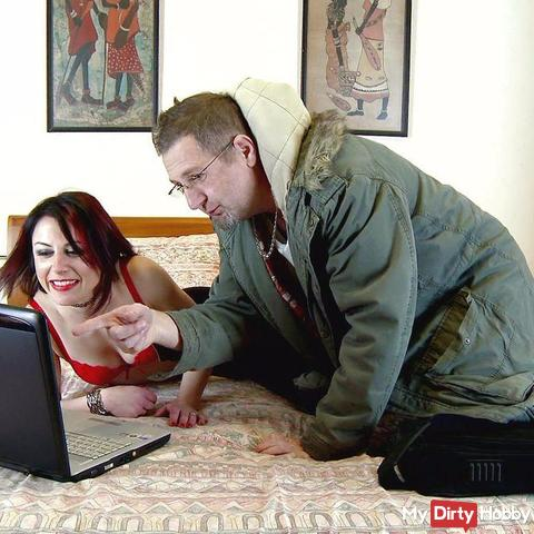 fu*king the horny milf neighbour webcamer