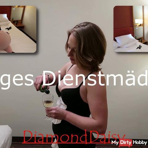 Gieriges Dienstmäd**en! Ich mach's mir selbst.... im Hotel!