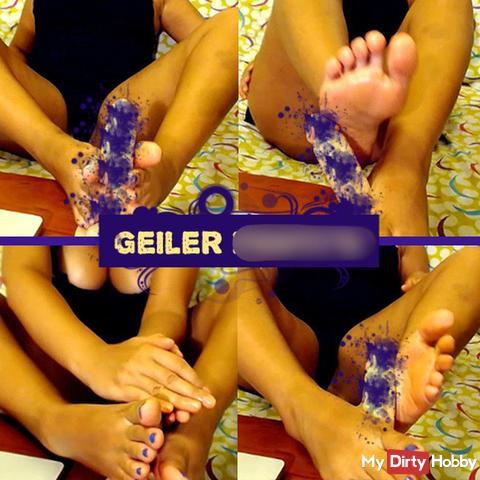 Geiler foot**b!! (Ohne Ton)