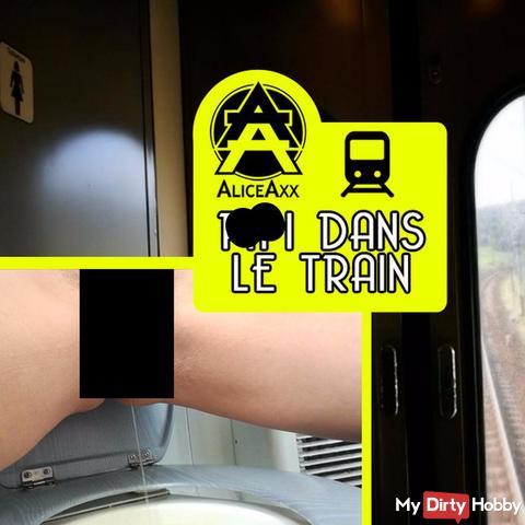 Pii dans le train
