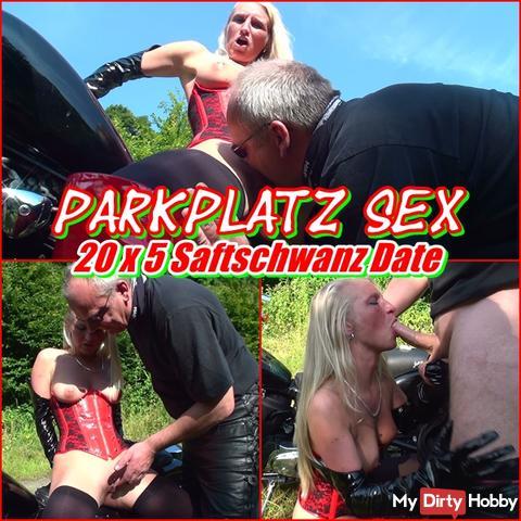 Parking Place Sex - 20 X 5 CUM Dick Date