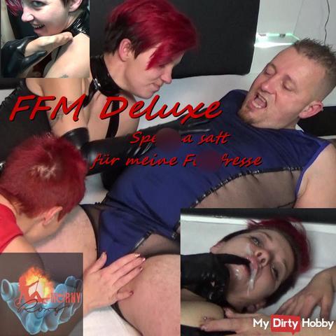 FFM Deluxe – sper*a satt für meine fi**fresse