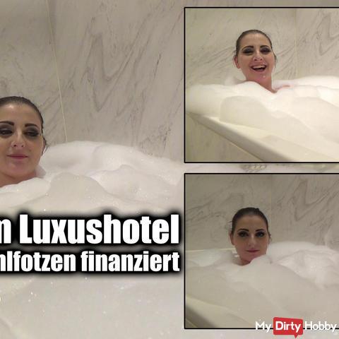 Baden im Luxushotel
