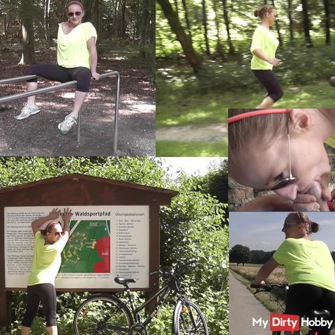 SCANDAL !! Waldsportpfad become horny !!!