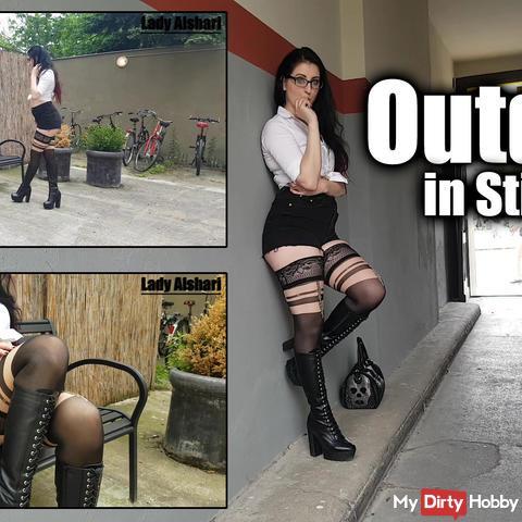 Outdoor in boots