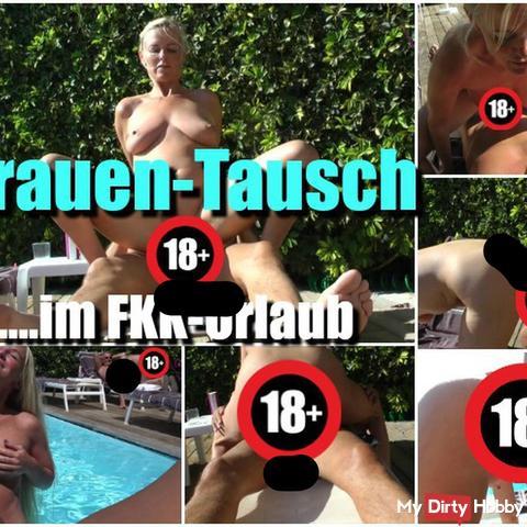 Frauen-Tausch im FKK-Urlaub