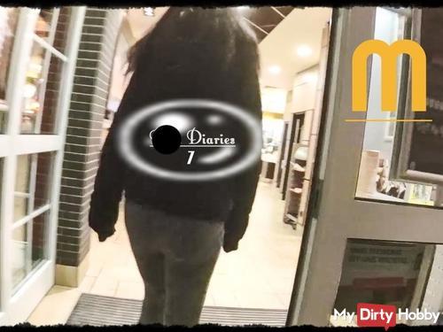 Dick Diaries 7 - bl*wjob im Burger Laden