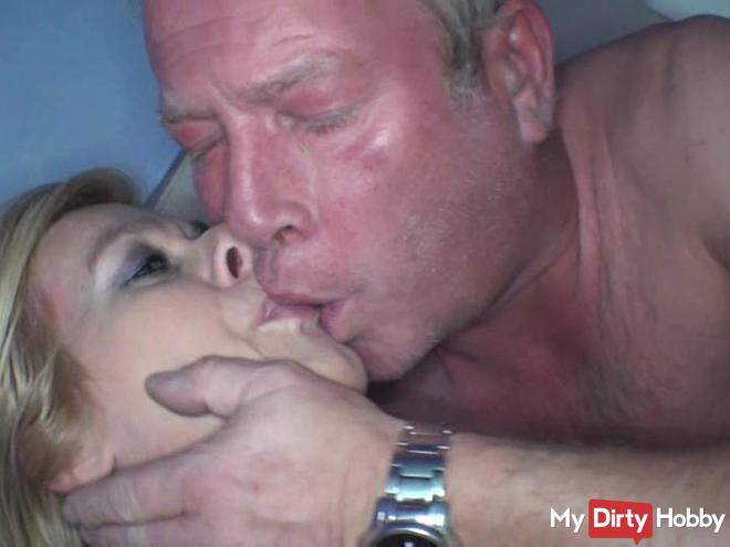 hot semen tongue kiss with NEM foreign
