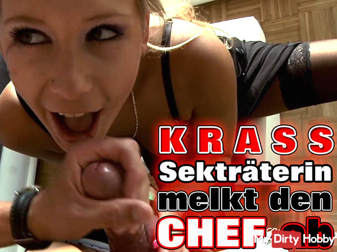 KRASS - Sekretärin milks the CHEF ab