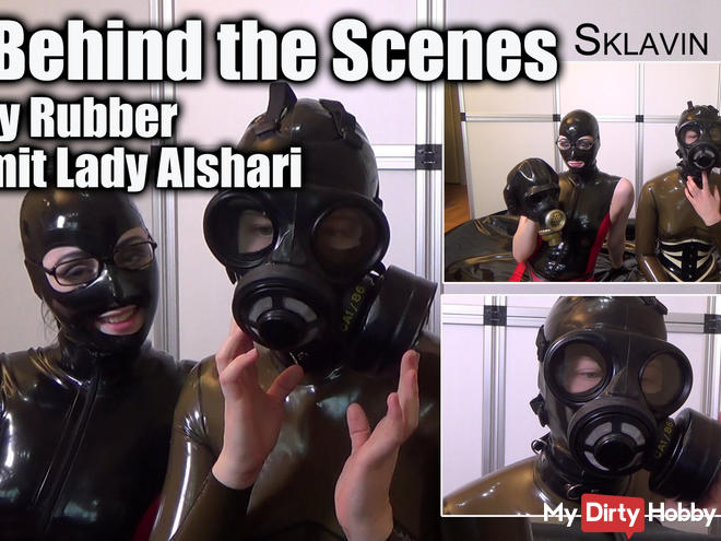 Behind the Scenes - Heavy Rubber mit Lady Alshari