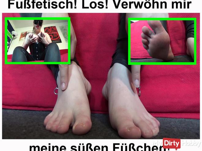 Fétichiste du pied! Los choyer mes pieds sexy