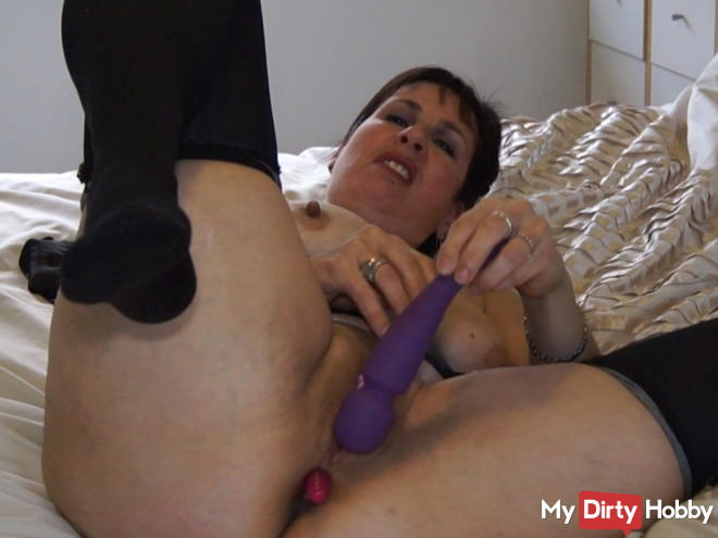 Solo fun with my sex toys
