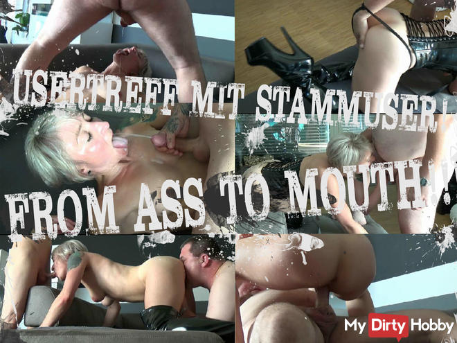 Usertreff With Stammuser FROM ASS TO MOUTH !!!