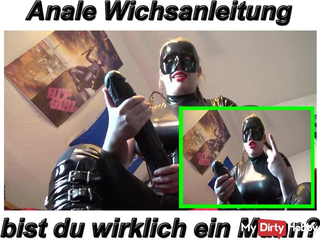Anal Wichsanleitung Are you really a real man?