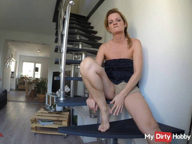 Wichsanleitung nylons with Plug