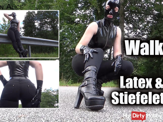 Walking - Latex and Boots