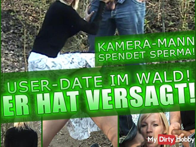 USER DATE IN THE FOREST! HE HAS FAILED! DONATE SPERM KAMERAM-ANN
