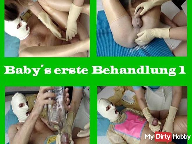 FetishBaby's first treatment 1